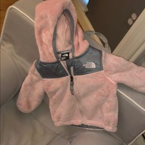 North face baby girl coat
